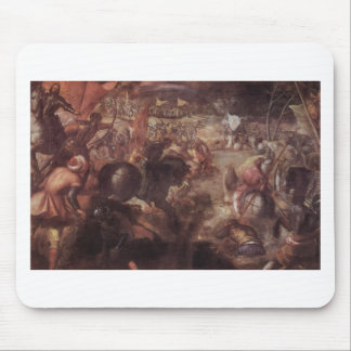The battle of the Taro by Tintoretto Mouse Pad