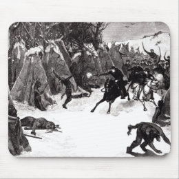 The Battle of the Washita Mouse Pad