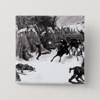 The Battle of the Washita Pinback Button