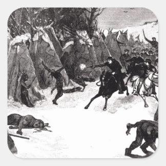 The Battle of the Washita Square Sticker