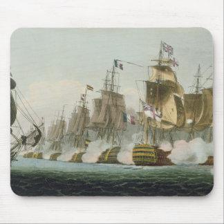 The Battle of Trafalgar, 21st October 1805, engrav Mouse Pad