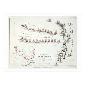 The Battle of Trafalgar, 21st October 1805, The Br Postcard
