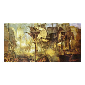 The Battle Of Trafalgar By Steuerbordbesanwanten Photo Cards