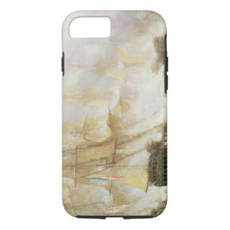 The Battle of Trafalgar, c.1841 (oil on canvas) iPhone 8/7 Case