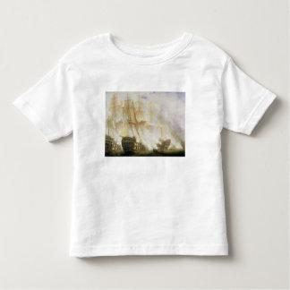 The Battle of Trafalgar, c.1841 (oil on canvas) Tshirt