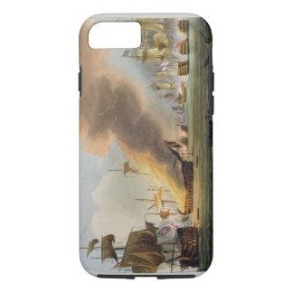 The Battle of Trafalgar, October 21st 1805, engrav iPhone 8/7 Case