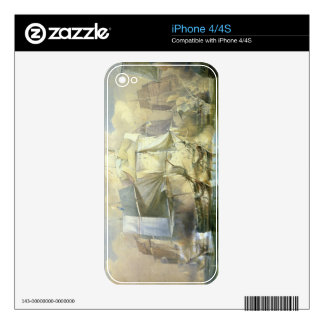 The Battle of Trafalgar, the Beginning of the Acti iPhone 4 Skin