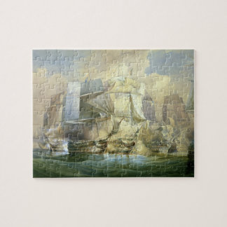 The Battle of Trafalgar, the Beginning of the Acti Jigsaw Puzzle