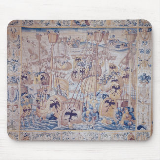The Battle of Tunis or Lepanto Mouse Pad