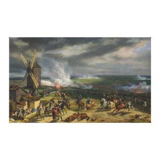The Battle of Valmy by Jean-Baptiste Mauzaisse Canvas Print