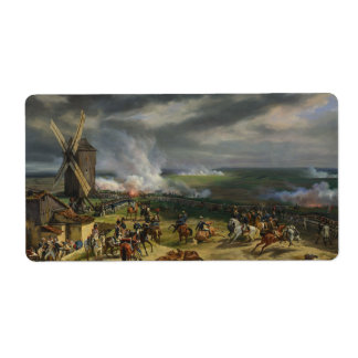 The Battle of Valmy by Jean-Baptiste Mauzaisse Label