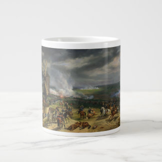The Battle of Valmy by Jean-Baptiste Mauzaisse Large Coffee Mug