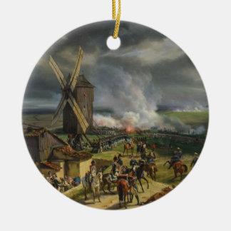 The Battle of Valmy by Jean-Baptiste Mauzaisse Christmas Ornament