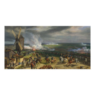 The Battle of Valmy by Jean-Baptiste Mauzaisse Photo Card Template