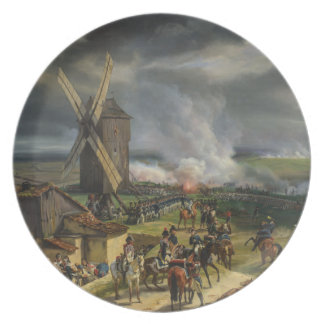 The Battle of Valmy by Jean-Baptiste Mauzaisse Party Plates