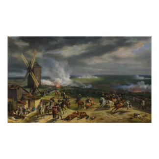 The Battle of Valmy by Jean-Baptiste Mauzaisse Poster