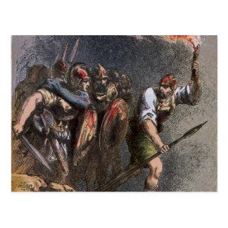 The Battle of Veii Postcard