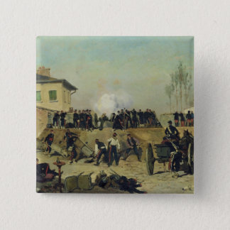The Battle of Villejuif, Siege of Paris, 1870 Button
