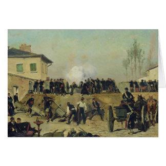 The Battle of Villejuif, Siege of Paris, 1870 Greeting Card