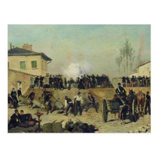 The Battle of Villejuif, Siege of Paris, 1870 Postcard