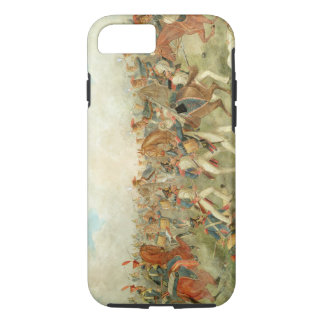 The Battle of Vitoria, June 21st 1813 (w/c on pape iPhone 8/7 Case