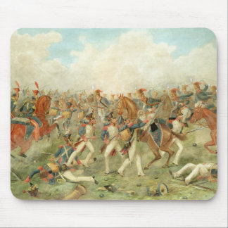 The Battle of Vitoria, June 21st 1813 (w/c on pape Mouse Pad