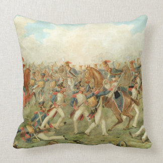 The Battle of Vitoria, June 21st 1813 (w/c on pape Pillow