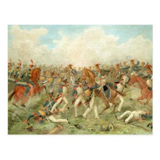 The Battle of Vitoria, June 21st 1813 (w/c on pape Postcard