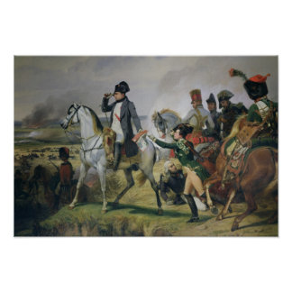 The Battle of Wagram, 6th July 1809, 1836 Poster