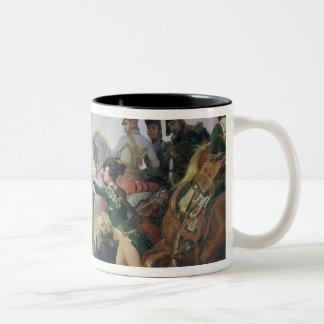 The Battle of Wagram, 6th July 1809, 1836 Two-Tone Coffee Mug