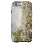 The Battle of Wagram, 7 July 1809, engraved by Lou iPhone 6 Case