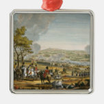 The Battle of Wagram, 7 July 1809, engraved by Lou Christmas Ornament