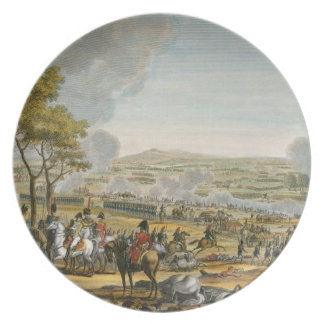 The Battle of Wagram, 7 July 1809, engraved by Lou Plate