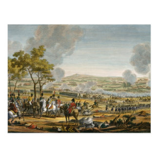 The Battle of Wagram, 7 July 1809, engraved by Lou Postcard