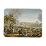 The Battle of Wagram, 7 July 1809, engraved by Lou Rectangular Magnet