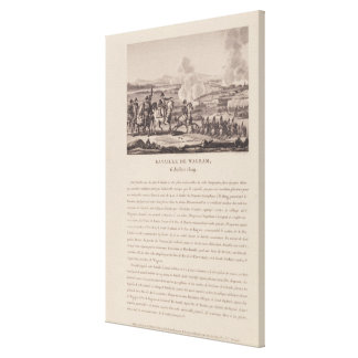 The Battle of Wagram on 6th July 1809 Canvas Print