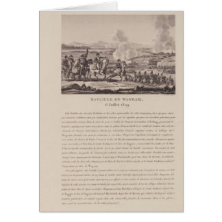 The Battle of Wagram on 6th July 1809 Card