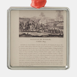 The Battle of Wagram on 6th July 1809 Christmas Ornament