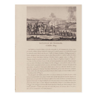 The Battle of Wagram on 6th July 1809 Postcard