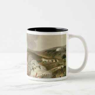 The Battle of Waterloo, 18 June 1815 Two-Tone Coffee Mug