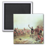 The Battle of Waterloo, 18th June 1815 2 2 Inch Square Magnet