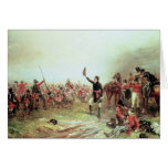The Battle of Waterloo, 18th June 1815 2 Card