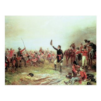 The Battle of Waterloo, 18th June 1815 2 Postcard