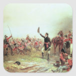 The Battle of Waterloo, 18th June 1815 2 Square Sticker