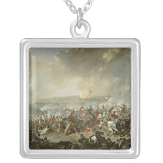 The Battle of Waterloo, 18th June 1815 Silver Plated Necklace