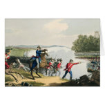 The Battle of Waterloo Decided by the Duke of Well Greeting Card