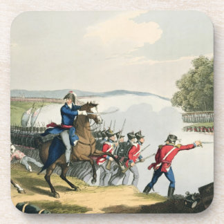 The Battle of Waterloo Decided by the Duke of Well Drink Coaster