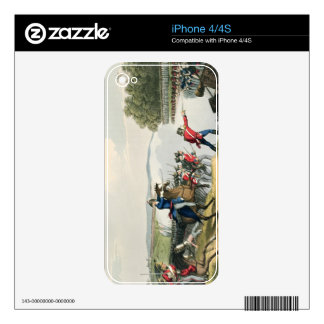The Battle of Waterloo Decided by the Duke of Well iPhone 4S Decal
