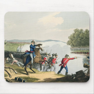 The Battle of Waterloo Decided by the Duke of Well Mouse Pad