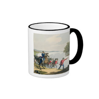 The Battle of Waterloo Decided by the Duke of Well Ringer Coffee Mug